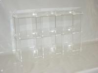 cd estanter a de acr lico vidrio acr lico ebay. Black Bedroom Furniture Sets. Home Design Ideas