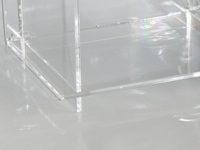 cd regal aus acryl plexiglas ebay. Black Bedroom Furniture Sets. Home Design Ideas