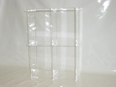 dvd regal aus acryl plexiglas. Black Bedroom Furniture Sets. Home Design Ideas