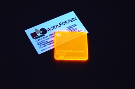 acrylglas zuschnitt rund 3 mm stark farbe fluorescent orange gp max 353 73 m ebay. Black Bedroom Furniture Sets. Home Design Ideas