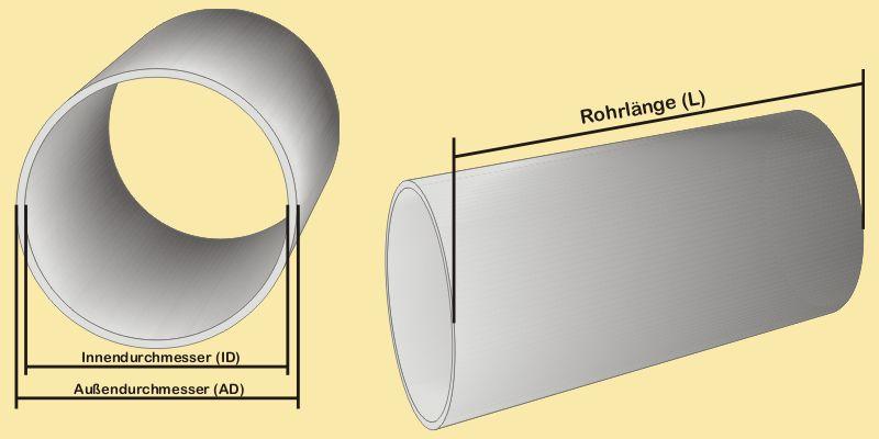plexiglas rohr ad 250 mm millimeterzuschn nach ihren vorgaben gp max 120 m ebay. Black Bedroom Furniture Sets. Home Design Ideas