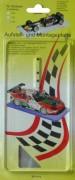 Aufstellplatte für 1:24 Slotcars Transparent
