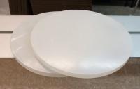 2 Stück Plexiglas WH10 DC Rund; Durchmesser 414 mm;   GP: 300,47 €/m²