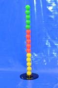 Standsäule aus Acrylglasrohr AD=80; ID=74 mm Länge 1000 mm