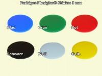 Plexiglas ® XT, Ring, Farbig, 3 mm Stark