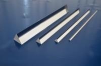 Acrylglas XT, Dreikantstab, Farblos, 25x25x25 mm