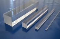 Acrylglas XT, Viereckstab, Farblos Kantenlänge 25 mm; GP: Max 54€/m