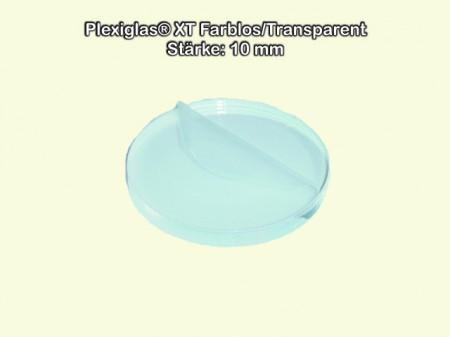 Kreiszuschnitt aus Acryl als transparente Acrylglas- Plexiglas-Platte 4 mm stark /Ø 85 mm bruchfest /& vielseitig anwendbar gepr/üfter UV-Schutz Acrylglas-Zuschnitt Rund beidseitig foliert