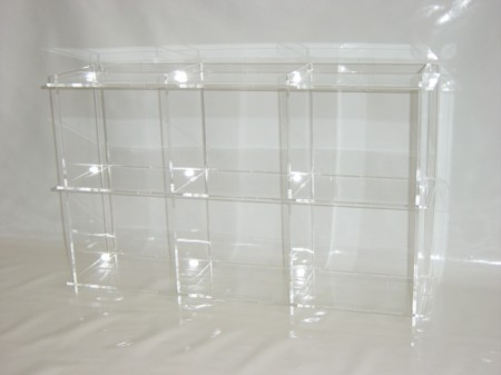cd regal aus acryl plexiglas platz f r 90 cd 39 s cd1 cd1. Black Bedroom Furniture Sets. Home Design Ideas