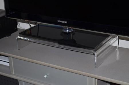 tv aufsatz aus acrylglas. Black Bedroom Furniture Sets. Home Design Ideas
